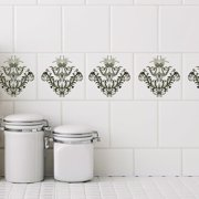 Stick Pretty Retile Chantilly Wall Decal (Set of 10)