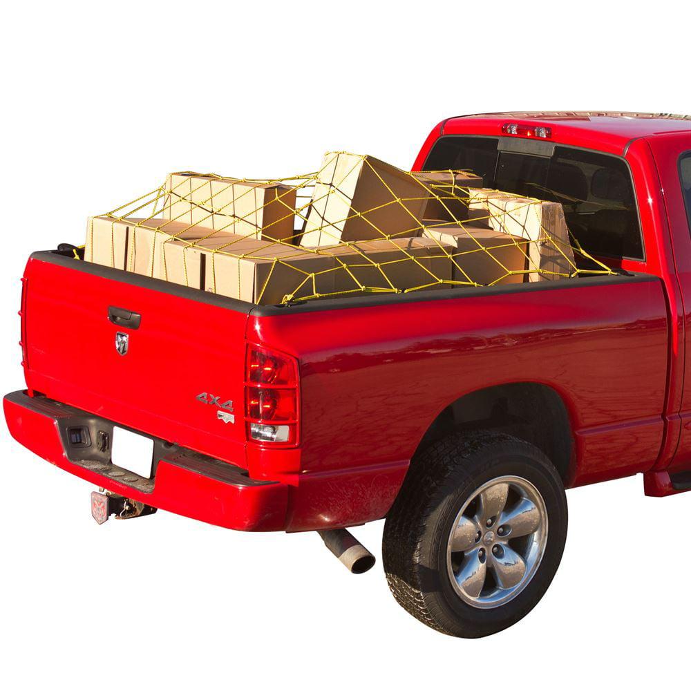 """70"""" x 52"""" Truck Bed Cargo Tie-Down Net"""