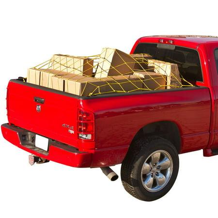 Truck Bed Cargo Net >> 70 X 52 Truck Bed Cargo Tie Down Net Walmart Com