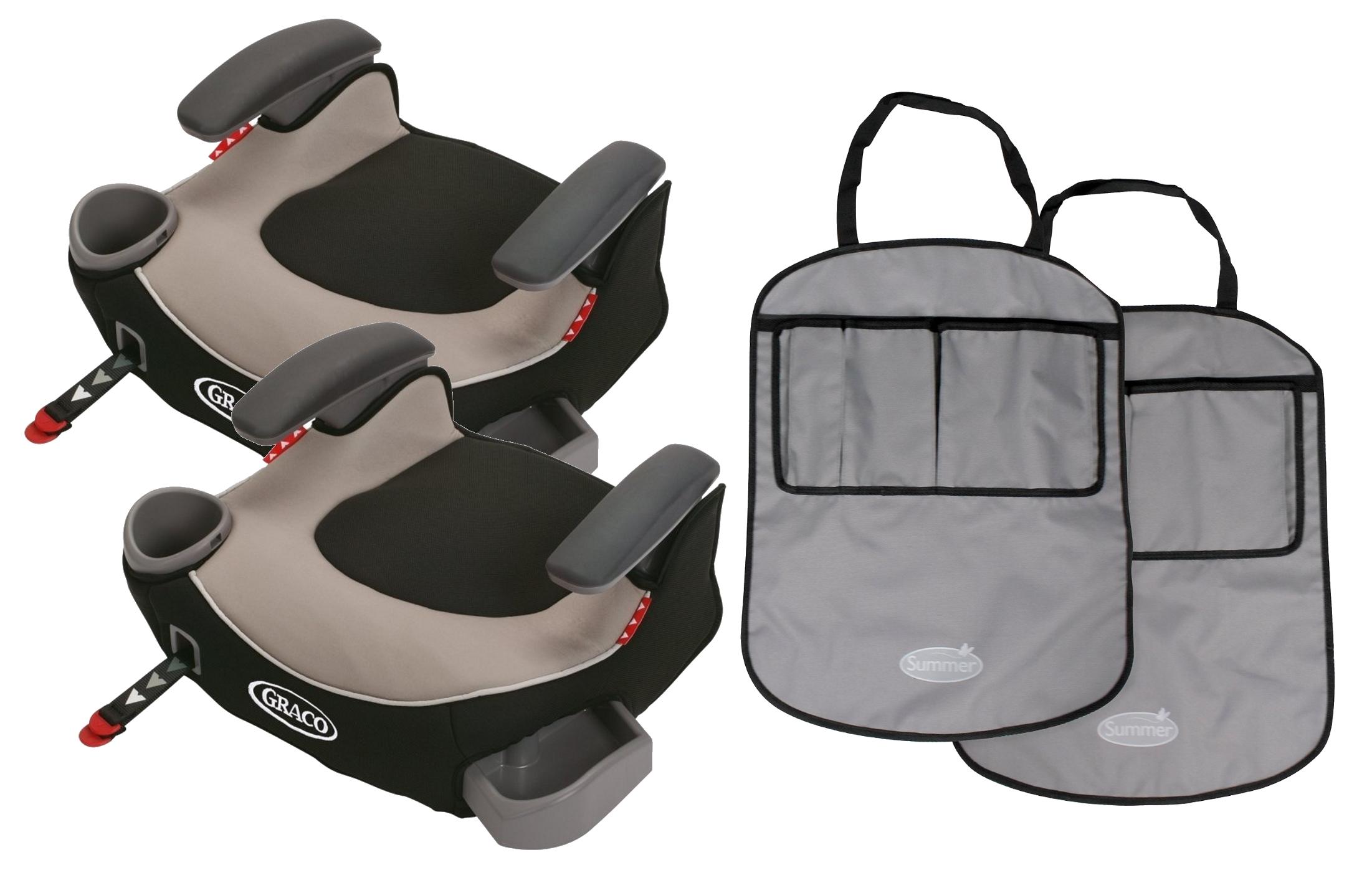 Silla De Carro Para Bebe 2 Fije la Graco Booster sin respaldo asientos con esteras de tiro libre, Pierce + Graco en Veo y Compro