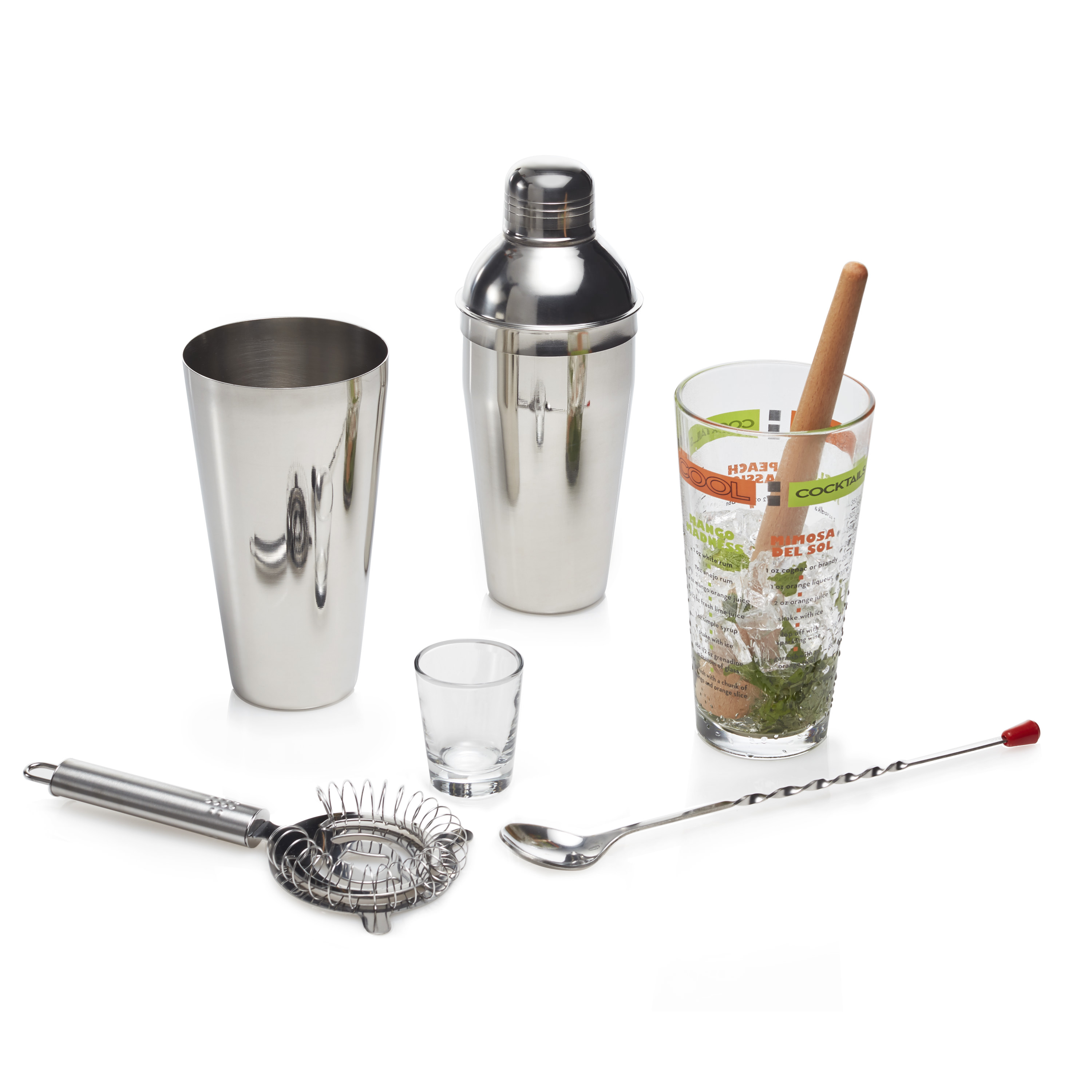 Libbey Mixologist 9-piece Cool Cocktails Set