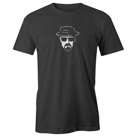 Grab A Smile Breaking Bad Heisenberg Face Adult Short Sleeve 100% Cotton (Best Tech Suits For Sprinting)