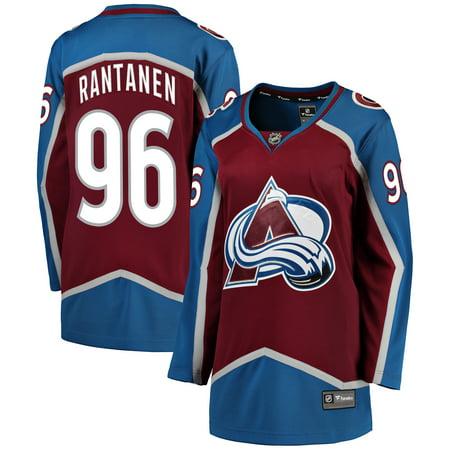 Mikko Rantanen Colorado Avalanche Fanatics Branded Women s Breakaway Player  Jersey - Burgundy - Walmart.com 69fcec25a