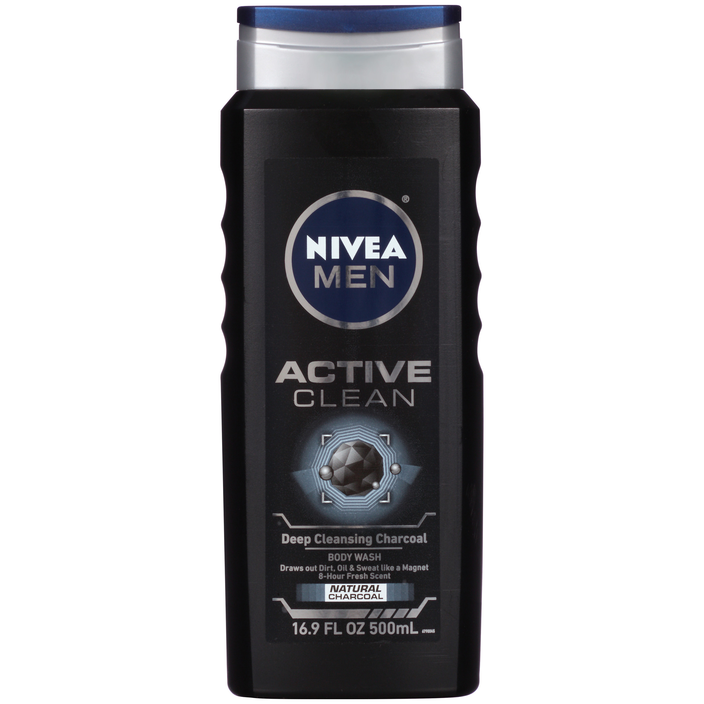 (2 pack) NIVEA Men Active Clean Body Wash 16.9 fl. oz.