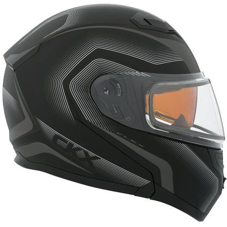 Double Helmet - CKX Lucas Flex RSV Modular Helmet, Winter Electric Double Shield