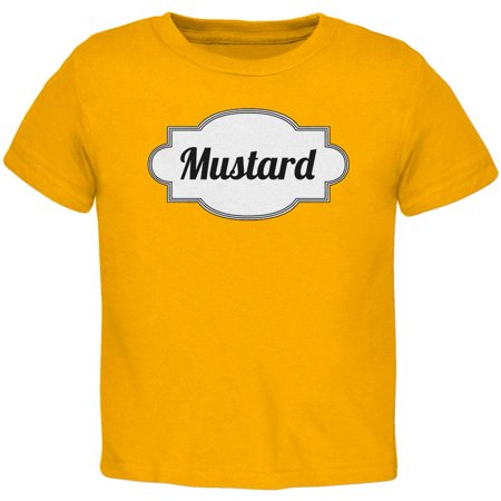 Halloween Mustard Costume Gold Toddler (French's Mustard Halloween Costume)