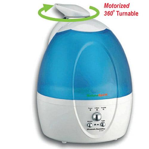 NatureSpirit Ultrasonic Humidifier With Motorized Rotate Sprayer, 1ct