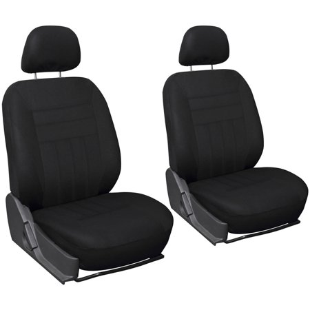 Types Seat Cover (Oxgord Flat Cloth Bucket Seat Cover Set for Car/Truck/Van/SUV )
