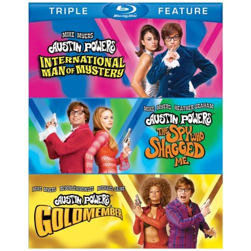 Austin Powers Collection: International Man Of Mystery / The Spy Who Shagged Me / Goldmember (Blu-ray) (Widescreen)