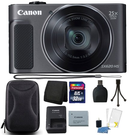Canon PowerShot SX620 HS 20.2MP 25X Zoom WIFI Digital Camera with 32GB Accessory Kit (Digital Camera Wifi Cannon)