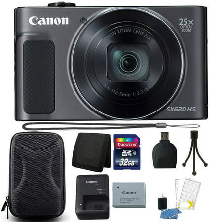 S210 Digital Camera - Canon PowerShot SX620 HS 20.2MP 25X Zoom WIFI Digital Camera with 32GB Accessory Kit