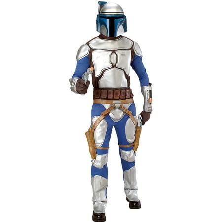 Star Wars Deluxe Jango Fett Child Costume Medium - image 1 de 1