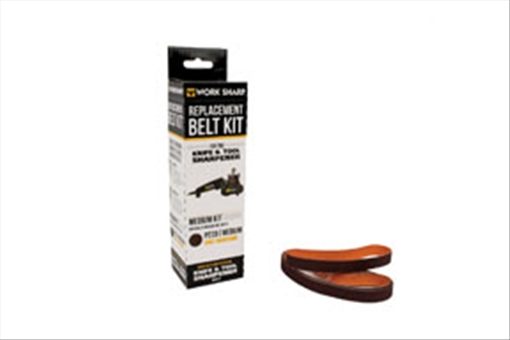 "Drill Doctor WSSA0002704 P220 Medium Grit Assirtnebt Belt Kit, 1 2"" x 12"" by Drill Doctor"