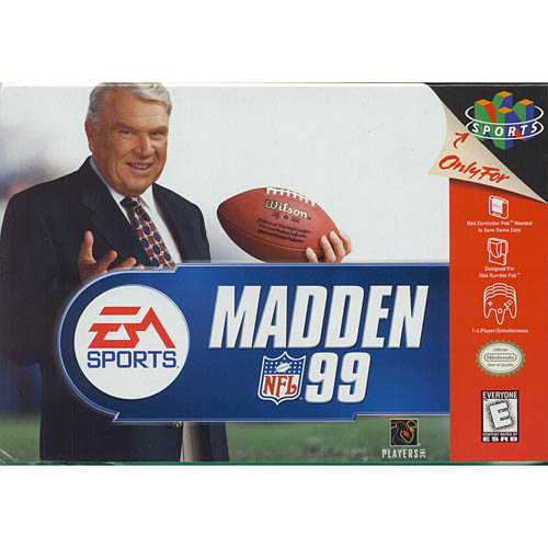 Madden 99 Football by