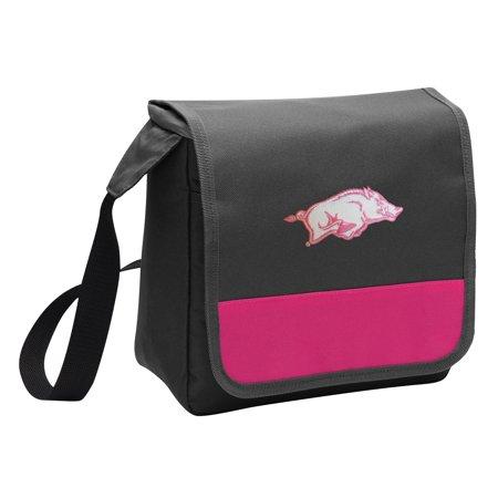 Arkansas Girl - Womens University of Arkansas Lunch Bag for Girls or Women Stylish OFFICIAL Arkansas Razorbacks Lunchbox Cooler for School or Office