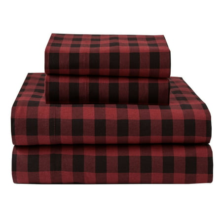 Winter Nights Cotton Flannel Sheet Set - Northern Night Sheets