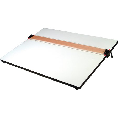 Mobile Parallel Straight Edge (Helix, HLX37179, Parallel Straight Edge Drawing Board, 1 Each,)
