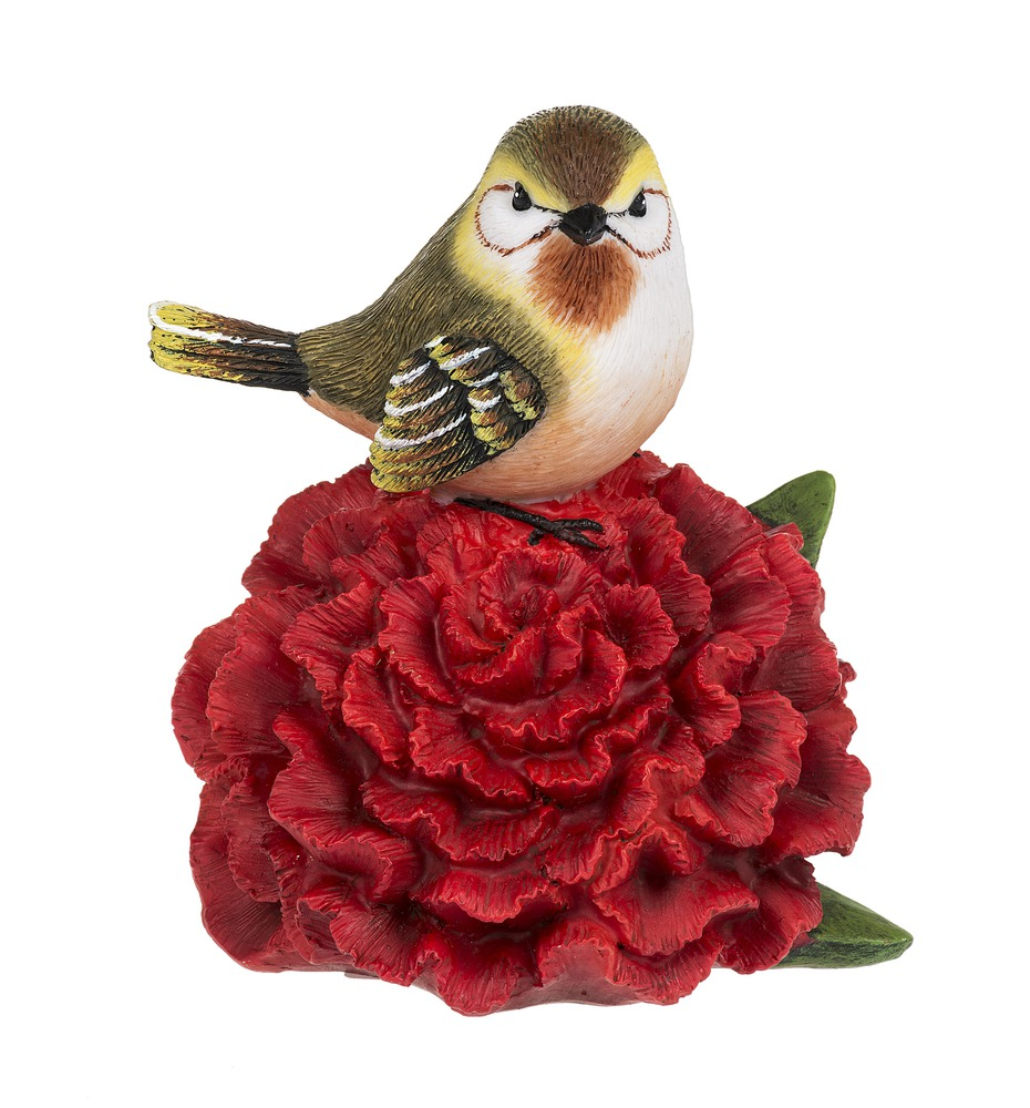 NEW GANZ FEBRUARY VIOLET BIRD FIGURE
