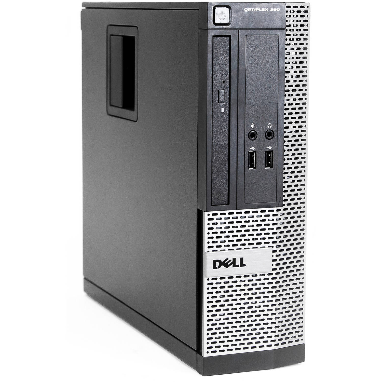 Refurbished Dell 390-SFF WA1-0224 Desktop PC with Intel Core i5-2400 Processor, 4GB Memory, 500GB Hard Drive and Microsoft Windows 10 Pro (64bit) (Monitor Not Included)