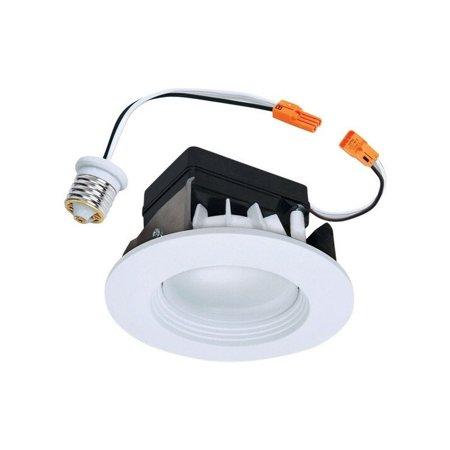 Halo Recessed Lighting RL460WH930 4u0022 3000K White LED Baffle-Trim Module