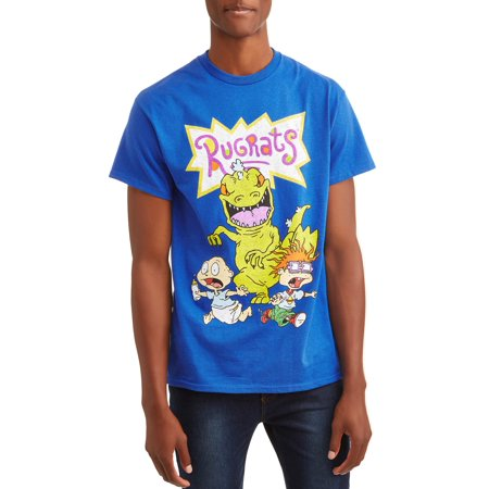 541a9b1266d Movies & TV - Rugrats Men's Nickelodeon Reptar Short Sleeve Graphic T-shirt  With Rugrats Reptar Tommy and Chuckie, up to Size 3XL - Walmart.com