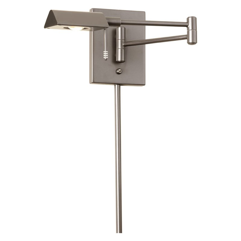 Dainolite LED Swing Arm Wall Lamp by Dainolite Ltd