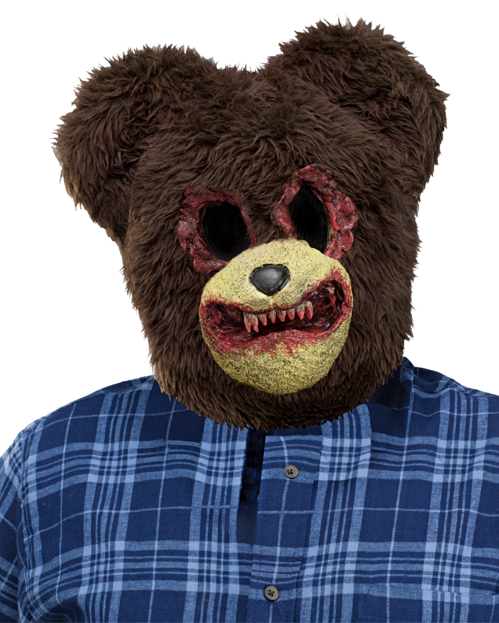 Scary Animal Halloween Masks.Scary Bear Animal Halloween Costume Mask Walmart Com Walmart Com