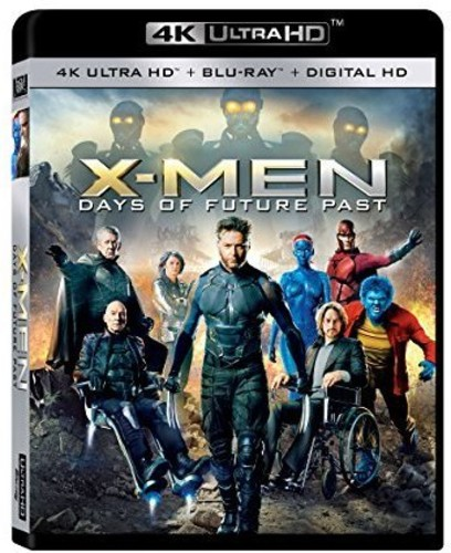 X-Men Days of Future Past (4K Ultra HD + Blu-ray + Digital HD)