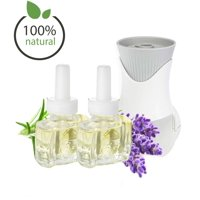 Air Wick® Plug In Scented Oil Starter Kit with 2 Scent Fill® 100% Natural Lavender Refills