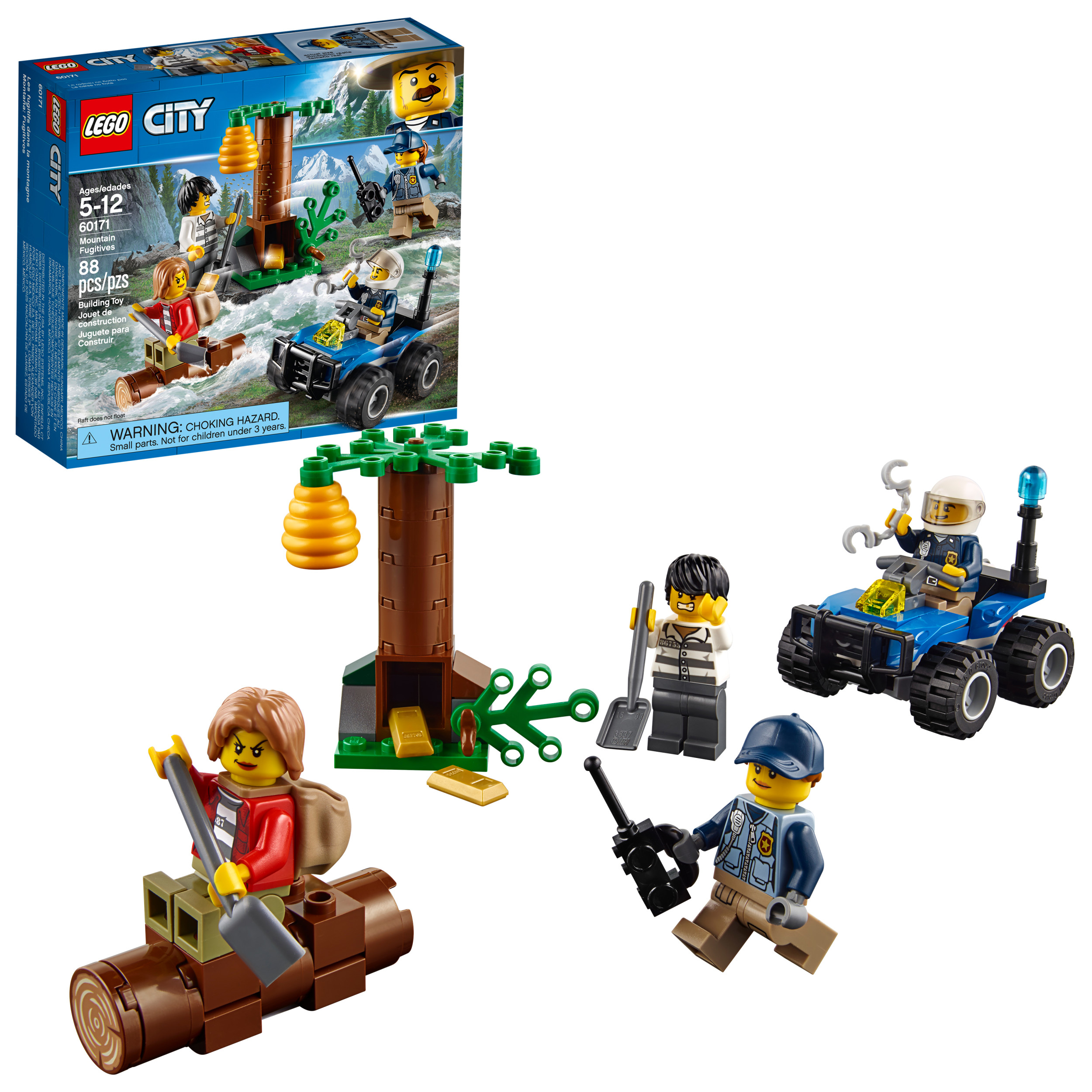 LEGO City Mountain Fugitives 60171