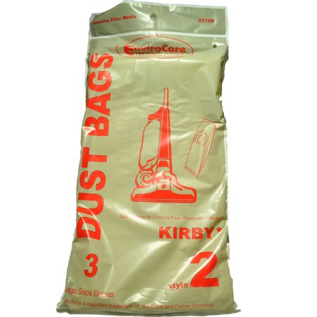 Kirby Style 2 Vacuum Cleaner Bags Fits Heritage I