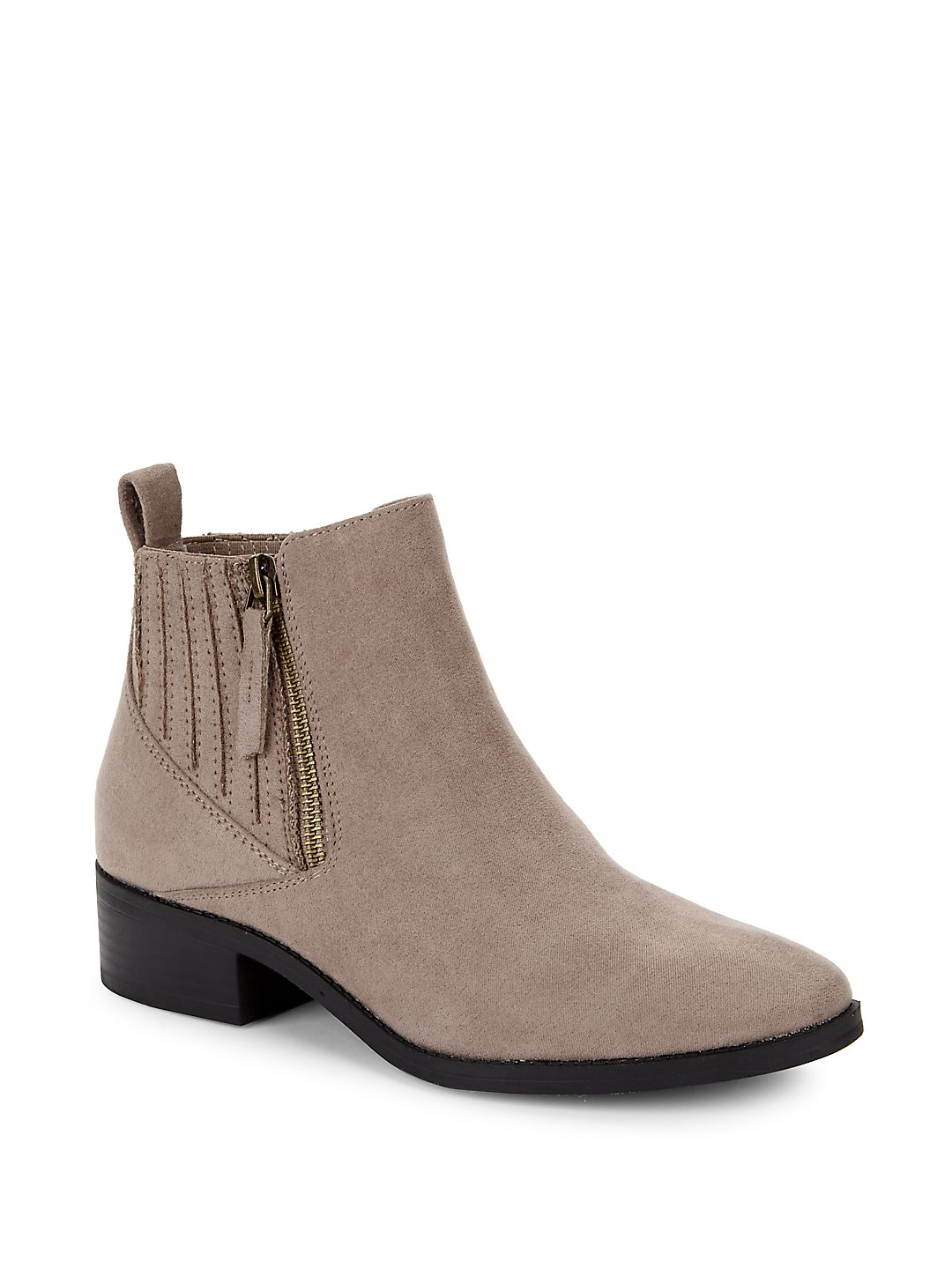 Willa Zipped Chelsea Boots