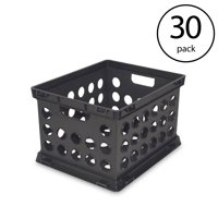 Sterilite Plastic Heavy Duty File Crate Stacking Storage Container (30 Pack)
