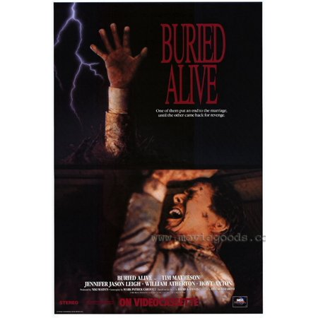 Buried Alive Poster Movie  27X40
