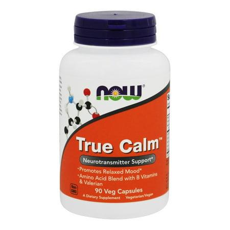 NOW Foods True Calm Amino Relaxer 90 Capsules