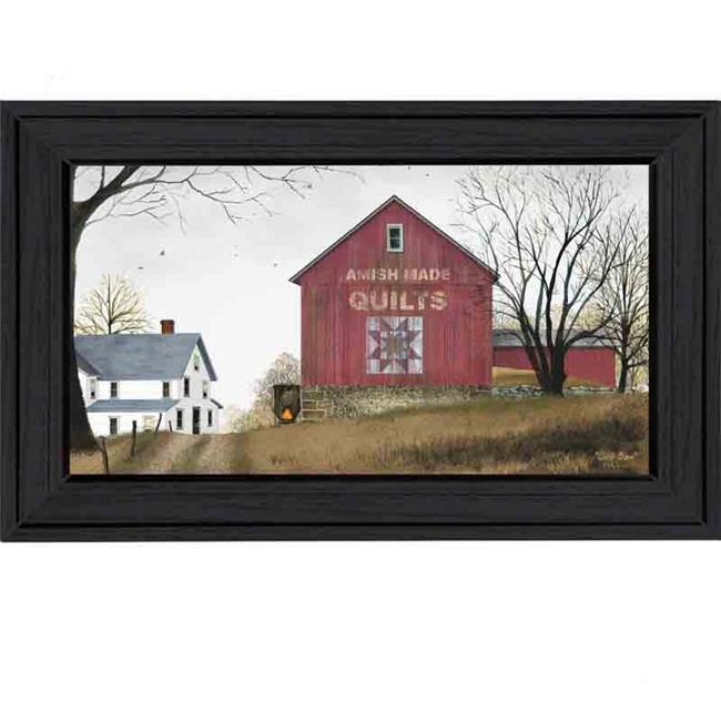 """""""The Quilt Barn"""" by Billy Jacobs Printed Framed Wall Artwork by Millwork Engineering"""