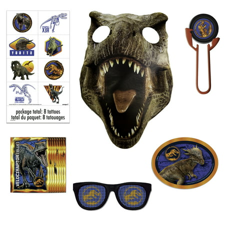 Jurassic World Party Favors, 48pc - Saints Party Favors