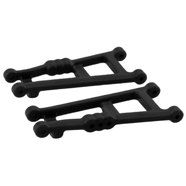 Rear A-Arms for Traxxas Electric Stampede 2WD and Rustler Black by BrainBoosters