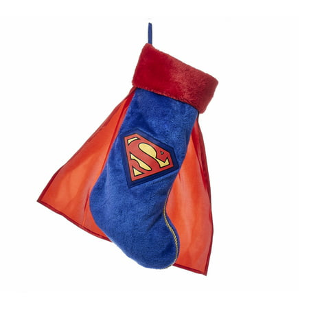 19 Inch Superman Christmas Stocking with - Gingerbread Man Stocking