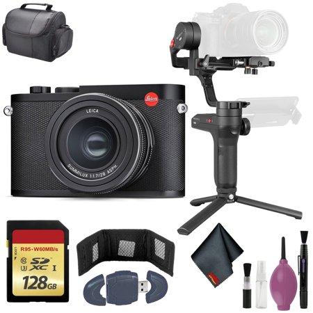 Leica Q2 Digital Camera - Zhiyun-Tech WEEBILL LAB Handheld Stabilizer - 128GB Case + More