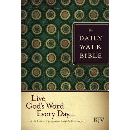 The Daily Walk Bible KJV (Softcover)