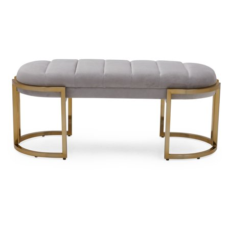 Everfocus Multiple Channel (MoDRN Glam Marni Channel Tufted Bench, Multiple)