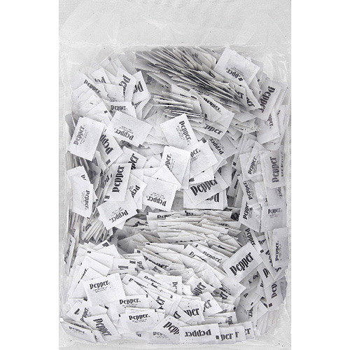 Diamond Crystal Pepper Packet, 3000 count, (Pack of 3)