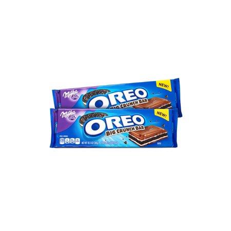 Milka Oreo Chocolate Bar, 10.5 oz, 2 Pack - Chocolate Covered Oreos Halloween