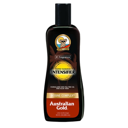 Deep Tanning Dry Oil - Australian Gold Rapid Tanning Intensifier Lotion, 8.5 Fl oz