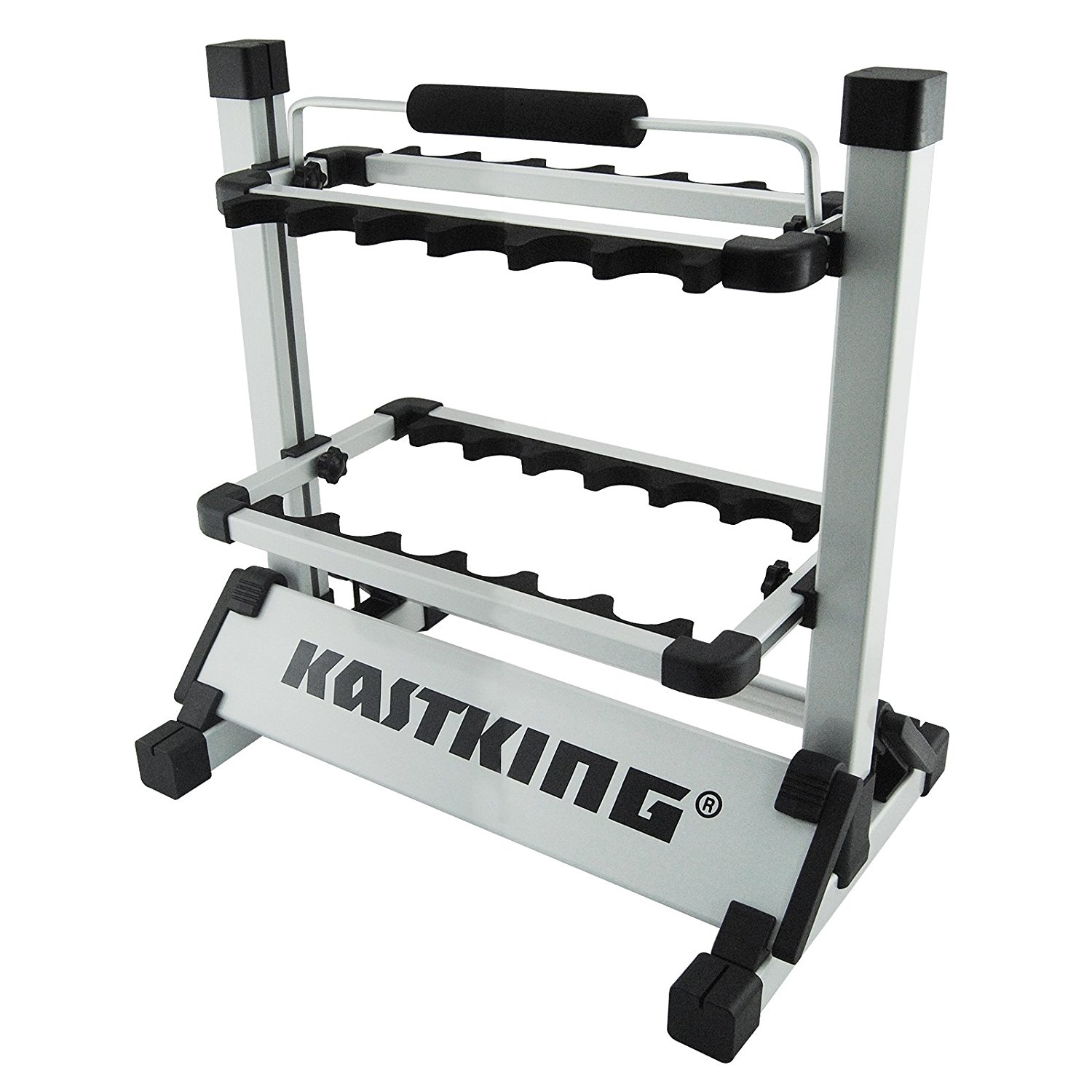 KastKing Rack 'em Up Fishing Rod Holder Portable Aluminum...