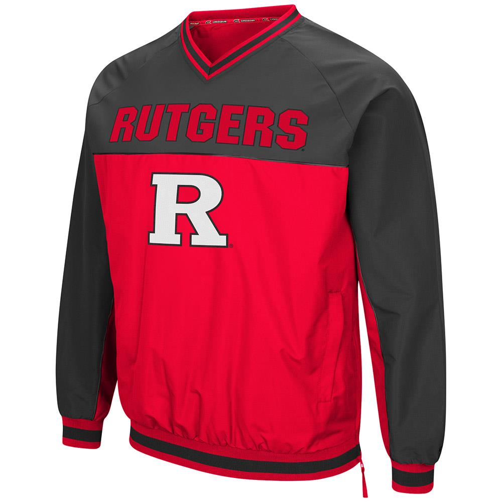 Mens Rutgers Scarlet Knights Windbreaker Jacket - M