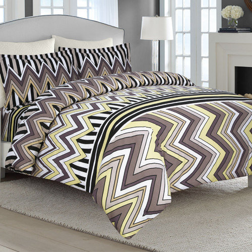 Tribeca Living 3 Piece Flannel Luxury Duvet Cover Set