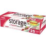 Presto 1 Qt. Reclosable Food Storage Bag (25 Count) CO3715S