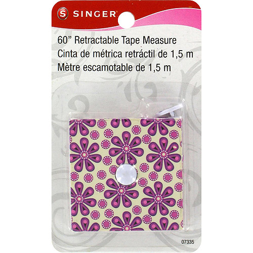 Sew Cute Decorative Retractable Tape Measure, 60""